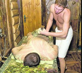 Bath massage