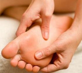Plantar massage